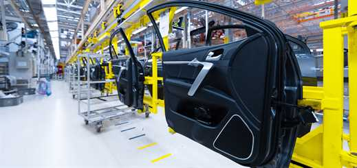 Intelligent production for automotive supply chains