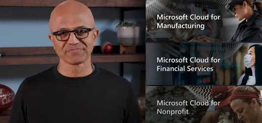 Microsoft launches financial services, manufacturing and non-profit clouds