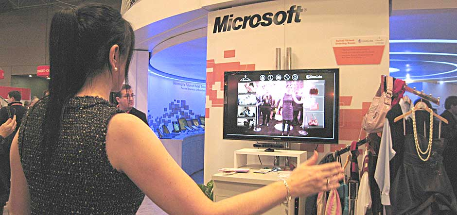 NRF: Partners showcase Kinect-based solutions for customer engagement