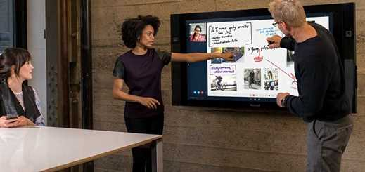 Microsoft unveils new large screen Surface Hub device