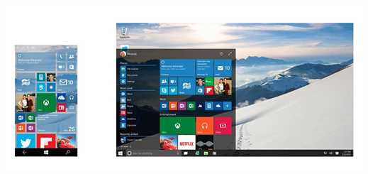 Windows 10 unites the desktop and mobile experience