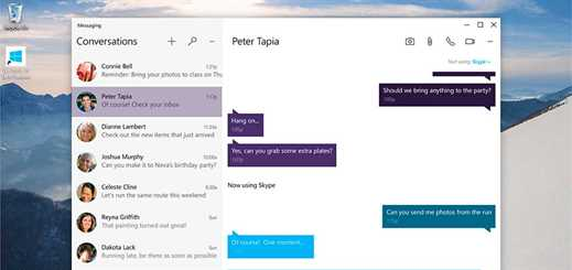 Microsoft builds Skype into Windows 10 and adds messaging
