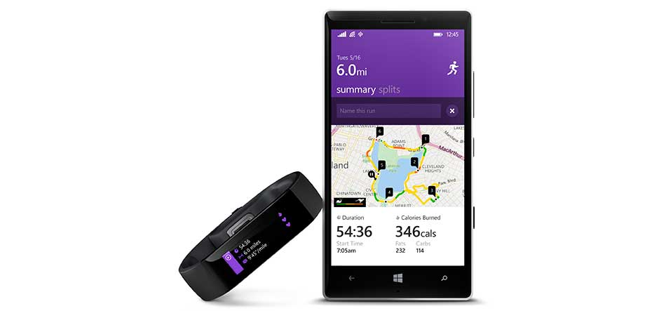 Microsoft Health app and Band get first major update