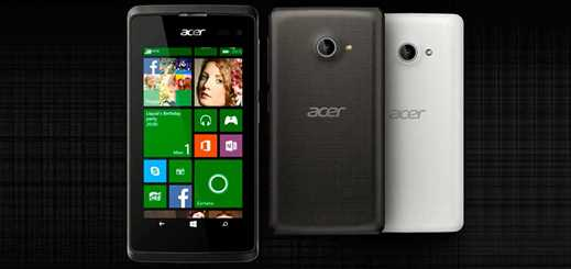 Acer unveils first Windows Phone 8.1 model with Liquid M220