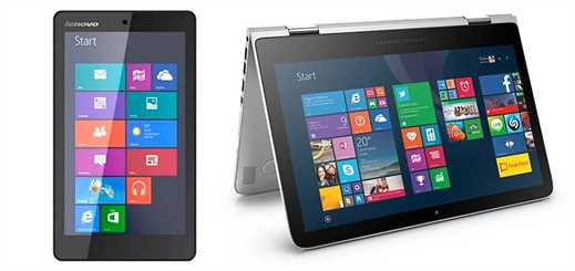 Lenovo and HP bring new Windows devices to market