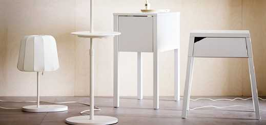 Ikea launches built-in wireless charging furniture range