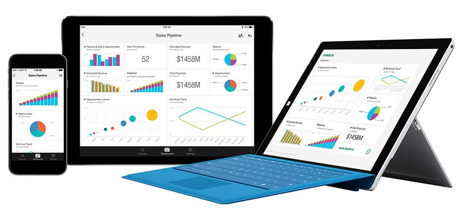 Preview of cloud business analytics tool Power BI goes global