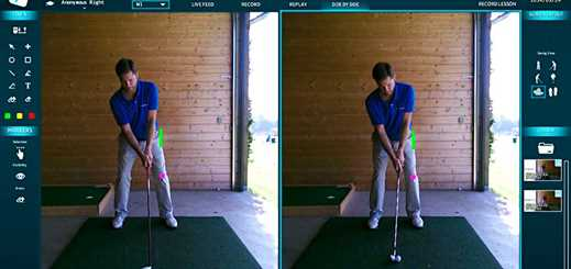 Kinect for Windows helps golfers improve their swing