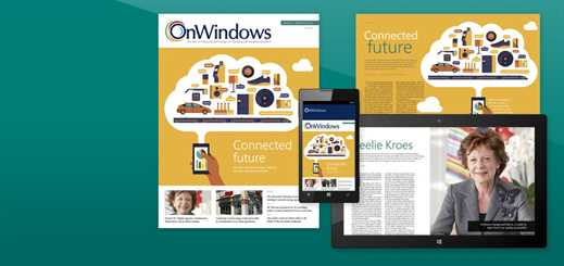 The Spring 2015 issue of OnWindows magazine is out now!