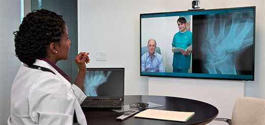 Polycom and Microsoft boost wellness care through remote communication