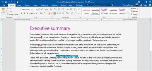 Office 2016 to include real-time co-authoring feature