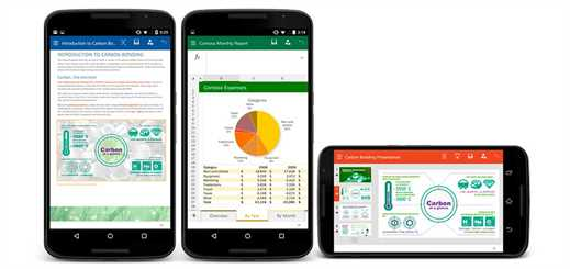 Microsoft releases public preview of Office for Android phone apps