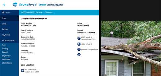 StoneRiver launches new Stream Mobile Claims Field Adjuster App