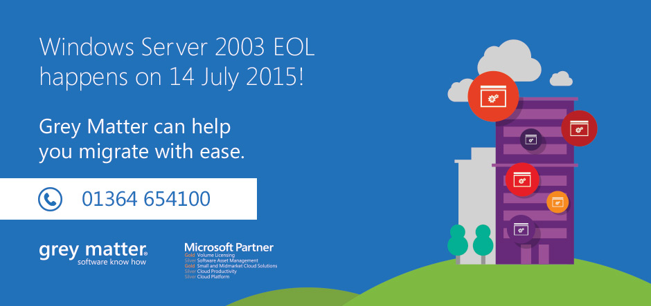 Moving on: preparing for Windows Server 2003 end of support