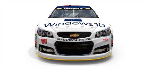 Microsoft partners with NASCAR and Hendrick Motorsports