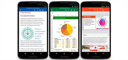Office for Android phone comes out of preview