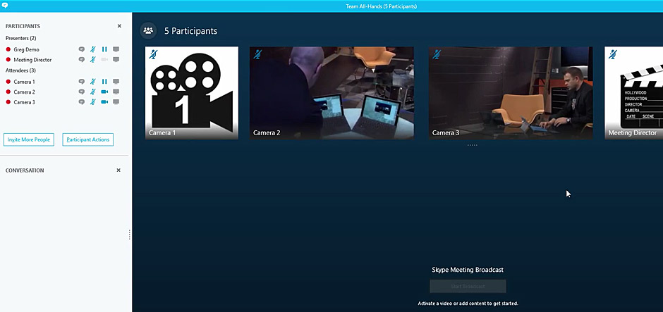 Microsoft unveils previews of three new Skype for Business services