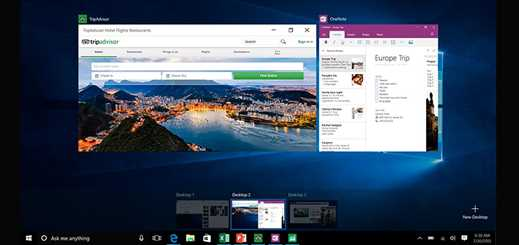 Five top new features to look out for in Windows 10