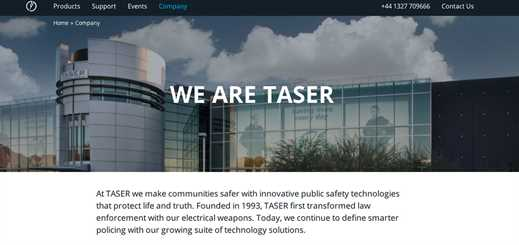 Taser International joins Microsoft to deliver law enforcement solution