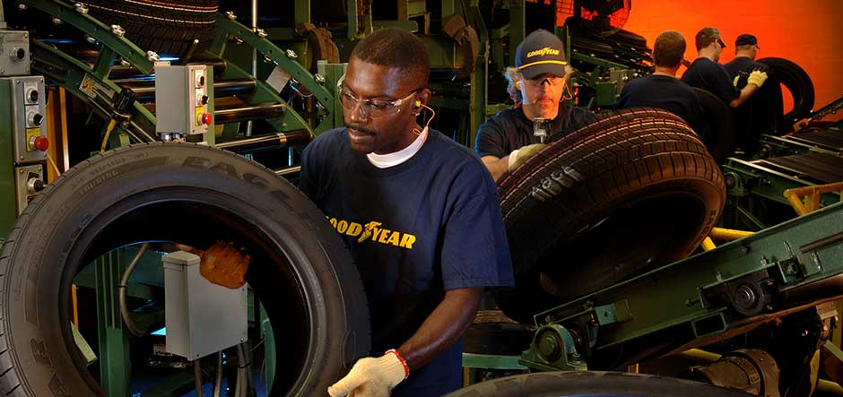 Goodyear Tire & Rubber improves staff efficiency with Office 365