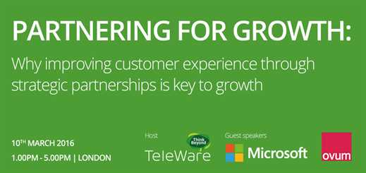 Partnering for Growth Event