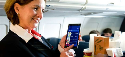 Delta flight attendants to switch to Nokia Lumia 1520 phablets
