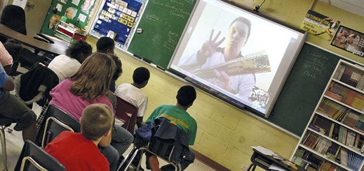 Creating the global classroom of the future with Skype