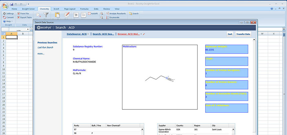 Accelrys adds scientific data analysis capabilities to Insight for Excel solution