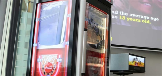 Coca-Cola Amatil boosts beverage sales with interactive vending machines