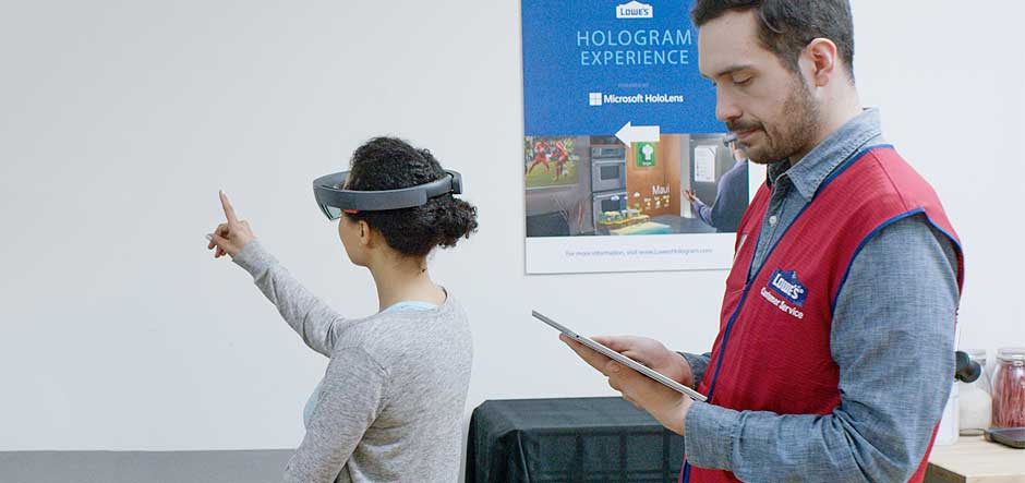 Lowe's aiming to reinvent home improvement with HoloLens