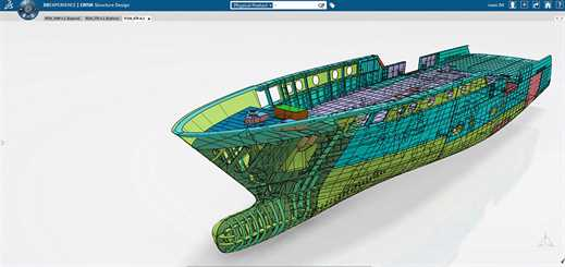NAOS adopts DS solution experiences to support ship design processes