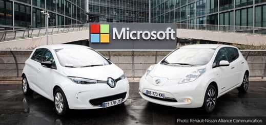 Renault-Nissan and Microsoft to use Azure to develop connected cars