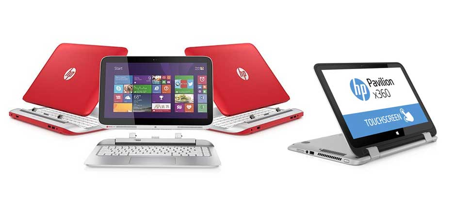 HP to release three new 2-in-1 devices this summer