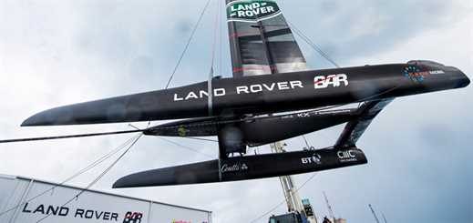 The software behind Land Rover BAR's quest to win the 35th America's Cup