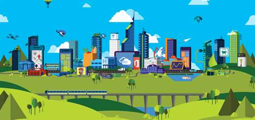 Using the cloud to help create a sustainable city