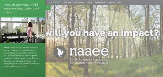 Microsoft Edge works with NAAEE to develop digital storytelling platform