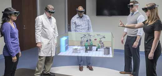 Stryker enhances operating room design with Microsoft HoloLens