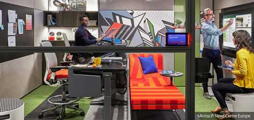 Microsoft and Steelcase combine to unlock creativity at work