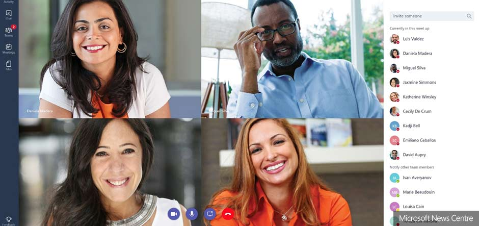 Microsoft Teams rolls out to Office 365 customers