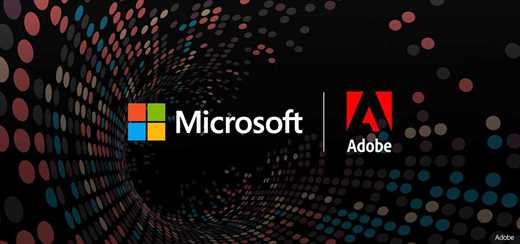 Adobe and Microsoft share their sales and marketing data