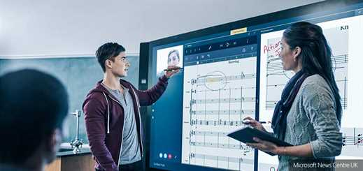 Microsoft reports huge demand for Surface Hub in the UK