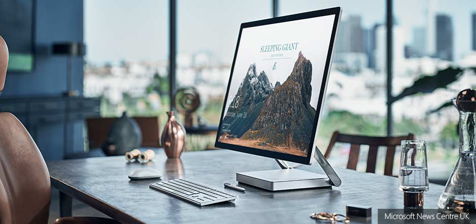 Surface Studio to be released in the UK next month