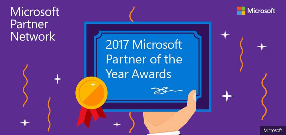 Introducing the 2017 Microsoft Partner of the Year Award winners