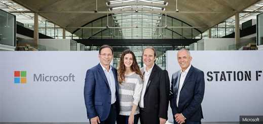 Microsoft backs AI start-ups with Station F partnership