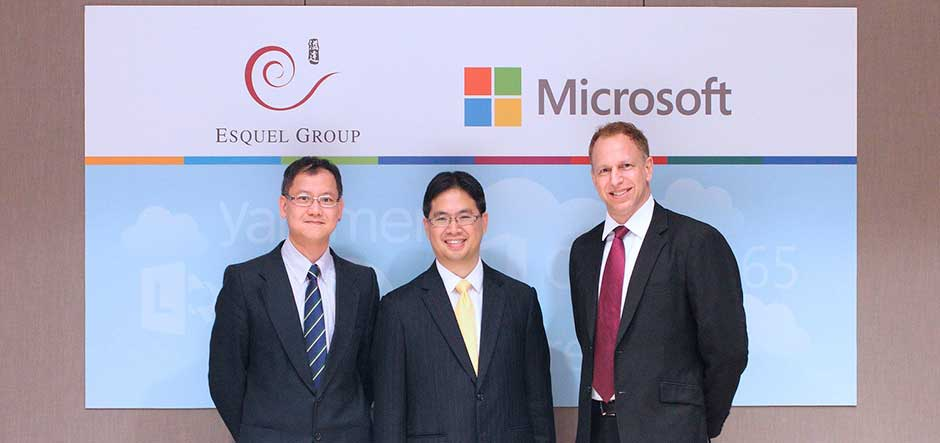 Esquel Group completes one of largest Yammer deployments in Hong Kong