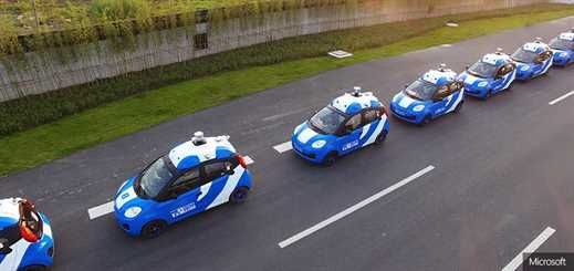 Microsoft and Baidu partner to support autonomous vehicle growth