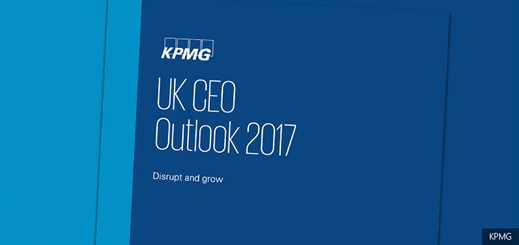 UK CEOs see digital technology as an opportunity, says KPMG