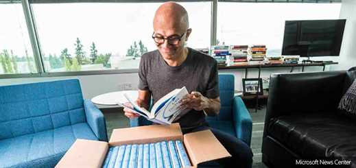 Satya Nadella tells how Microsoft has 'rediscovered its soul' in new book