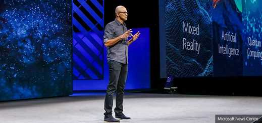 """We aim to unlock the creativity in all of us,"" says Satya Nadella"