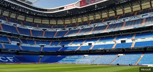 Microsoft cloud enhances Real Madrid's connection with fans
